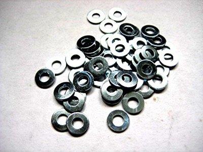 50 Stück Unterlegscheiben (Beilagscheibe) 2,7mm für Schrauben M2,5 verzinkt