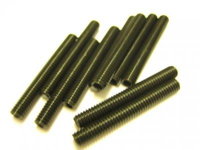 10 Stück Gewindestifte (Wurmschrauben) M4x30mm DIN 913 45H mit Kegelkuppe