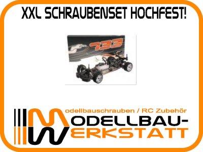 XXL Schrauben-Set Stahl hochfest! SERPENT 733 1:10 ONROAD