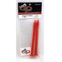 DE Racing Reifenhalter 1:8 Buggy Rot (Buggy Tire Spikes) 2 Stück