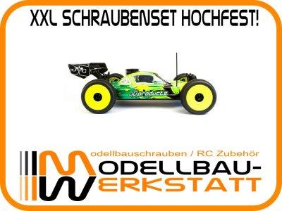 XXL Schrauben-Set Stahl hochfest! für JQ Products The Car / The Car Yellow Edition