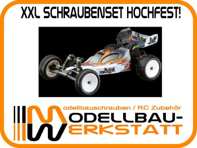 XXL Schraubenset hochfest! Ansmann Mad Rat / Mad Rat BL Brushless / (füher X-Pro)