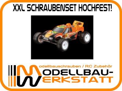 XXL Schraubenset hochfest! Ansmann Macnum / Macnum BL Brushless / (füher XT-Pro)