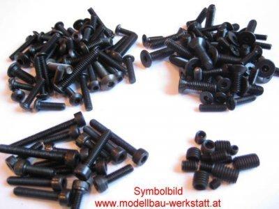 XXL Schrauben-Set Stahl hochfest Yokomo BD5