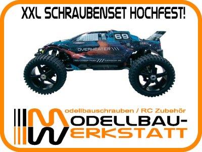 XXL Schrauben-Set hochfest! Reely Overheater 1:8 Truggy 4WD
