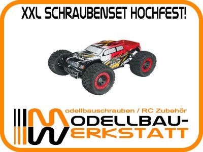 XXL Schrauben-Set Stahl hochfest! Thunder Tiger MT4-G3 Brushless