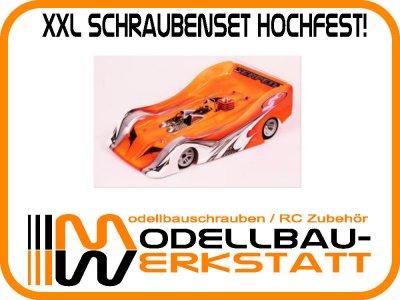 XXL Schrauben-Set Stahl hochfest! SERPENT 966 EVO 1:8 ONROAD