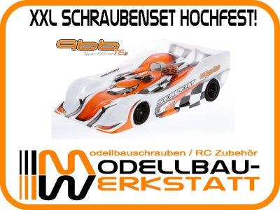 XXL Schrauben-Set Stahl hochfest! SERPENT 966 TE / TE V2 1:8 ONROAD