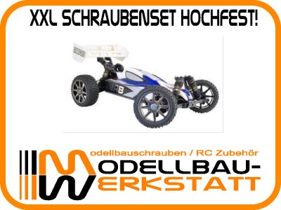 XXL Schrauben-Set Stahl hochfest! RB E-ONE