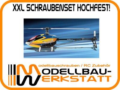 XXL Schrauben-Set Stahl hochfest! Align T-Rex 600E Pro / KIT / EFL Pro