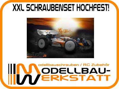 XXL Schrauben-Set Stahl hochfest! RB ONE R V2 / ONE R