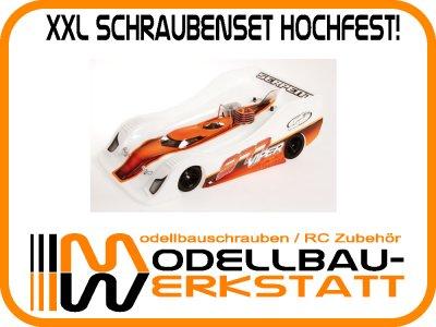 XXL Schrauben-Set Stahl hochfest! SERPENT 977 Viper 1:8 Onroad