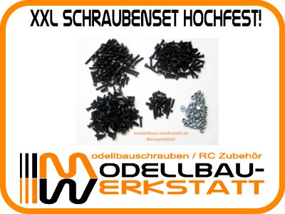 XXL Schrauben-Set Stahl hochfest! XRAY XB9E