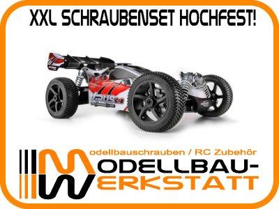 XXL Schrauben-Set Stahl hochfest Ansmann Virus 2.0 3.0 Terrier Short Course 1:8