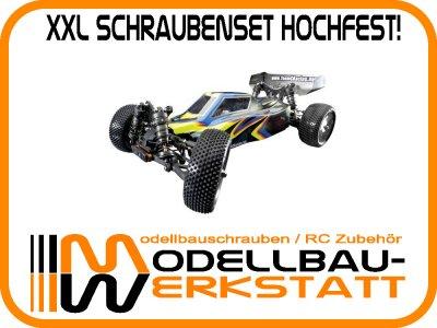 XXL Schrauben-Set Stahl hochfest! Absima Team C TM2