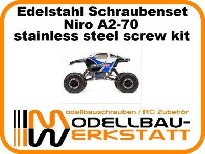 XXL Schrauben Set Edelstahl A2-70 Maverick Scout RC Rock Crawler