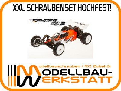 XXL Schrauben-Set Stahl hochfest! SERPENT Spyder SRX2 RM