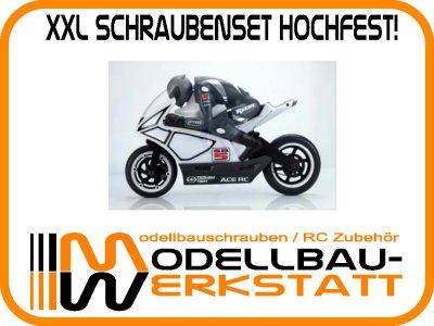 XXL Schraubenset Stahl hochfest Thunder Tiger SB5 1:5 Bike Elektro