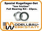 """""""low friction"""" Spezial Kugellager-Set für Mugen MBX-7 ECO MBX-7T ECO MBX-6 ECO MBX-6T ECO"""