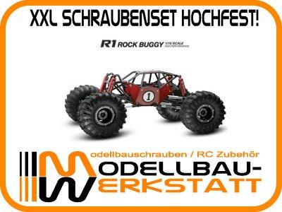 XXL Schrauben-Set Stahl hochfest! für Gmade R1 Rock Buggy
