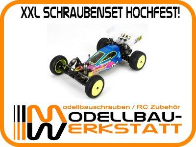 XXL Schrauben Set Stahl hochfest! Team Losi Racing TLR 22 2.0 twenty two 2.0