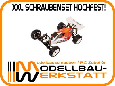 XXL Schrauben-Set Stahl hochfest! SERPENT Spyder SRX2 MM