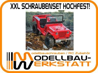 XXL Schrauben-Set Stahl hochfest! für Gmade Sawback GM52000 GM52001 GM52004