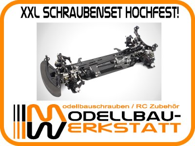 XXL Schraubenset Stahl hochfest! ARC R10 2015 / ATS / Black Edition
