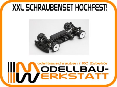XXL Schrauben-Set Stahl hochfest Yokomo BD7 2015 / 2014