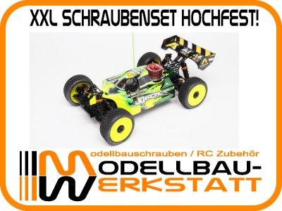 XXL Schrauben-Set Stahl hochfest! für JQ Products The Car White Edition