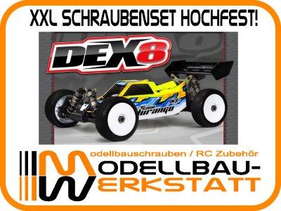 XXL Schrauben Set Stahl hochfest! Team Durango DEX8 DEX8T