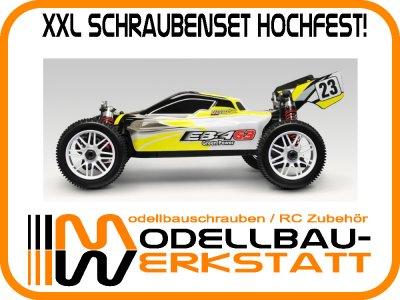 XXL Schrauben-Set Stahl hochfest! Thunder Tiger EB4 G3 Brushless Buggy