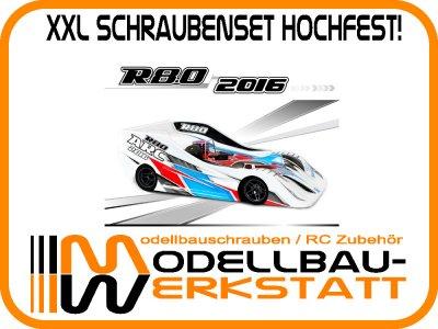 XXL Schraubenset Stahl hochfest! ARC R8.0 2016 / R8.0