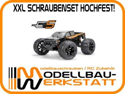 XXL Schraubenset Stahl hochfest! Team Magic E5 1:10 4x4 Monster Truck