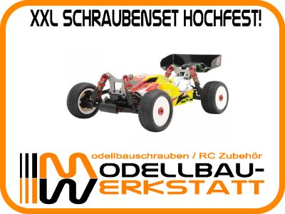 XXL Schrauben-Set Stahl hochfest! SWORKz S104 EK1