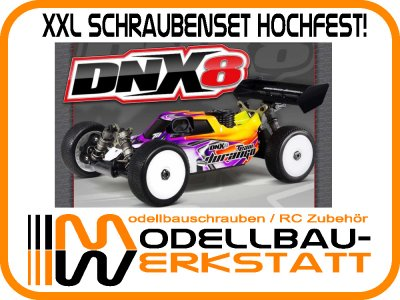 XXL Schrauben Set Stahl hochfest! Team Durango DNX8