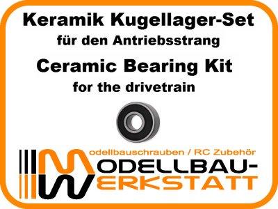 Keramik Kugellager-Set Team Associated RC8B3.1 RC8B3.1e