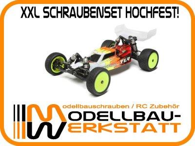 XXL Schrauben Set Stahl hochfest! Team Losi Racing TLR 22 4.0 twenty two 4.0