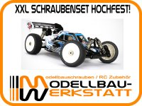 XXL Schrauben-Set Stahl hochfest! für SWORKz S35-3 (Version 2018 mit 8x16x5mm Radlagern!)
