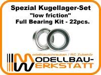 """""""low friction"""" Spezial Lagerset für Mugen MBX8 ECO / MBX8T ECO"""