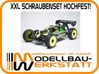 XXL Schrauben-Set Stahl hochfest! für JQ Products The Car Black Edition