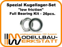 """""""low friction"""" Spezial Lager-Set für Team Losi Racing TLR 8IGHT-X"""