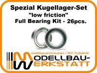 """low friction"" Spezial Kugellager-Set für Team Losi Racing TLR 8IGHT-X"
