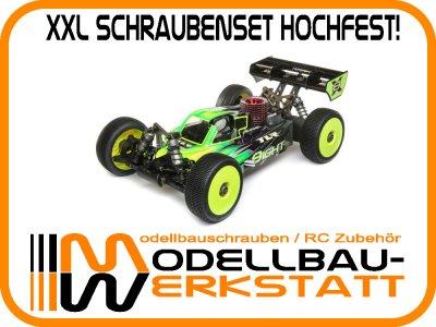 XXL Schrauben-Set Stahl hochfest! für Team Losi Racing TLR 8IGHT-X