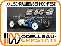 XXL Schrauben-Set für SWORKz S14-3 Stahl hochfest!