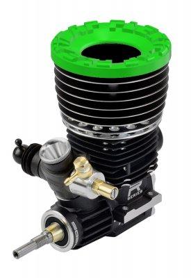 Kühlkopfschützer grün - FlexyCap® Green