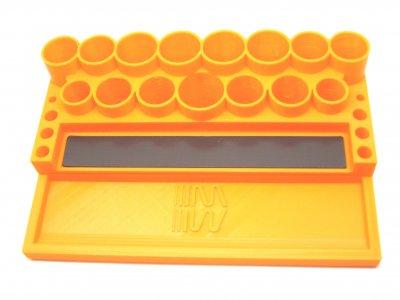 RC Werkzeugständer MIP orange (RC Tool Stand Orange)