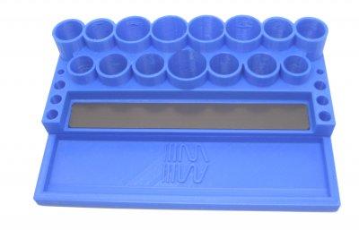 RC Werkzeugständer MIP blau (RC Tool Stand Blue) Werkzeughalter