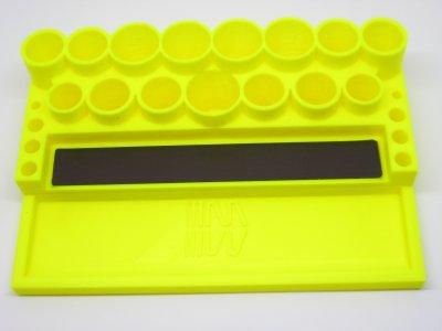 RC Werkzeugständer MIP gelb (RC Tool Stand Yellow)