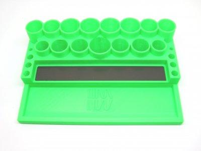 RC Werkzeugständer Universal grün (RC Tool Stand Green)
